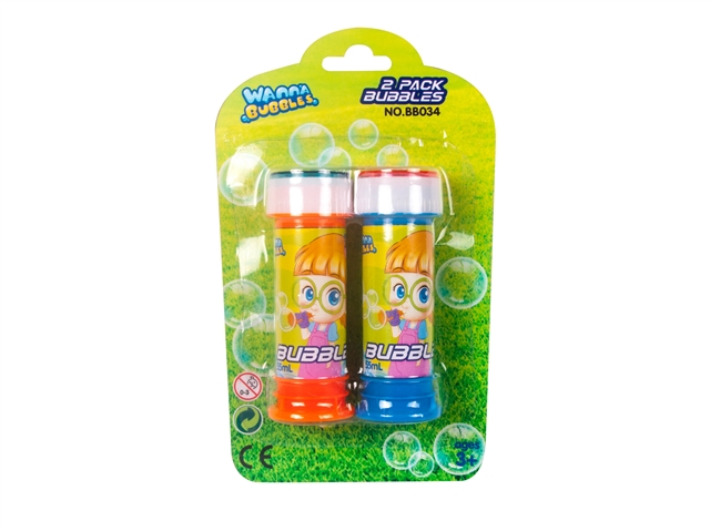2PACK 55ML BUBBLE - BB034