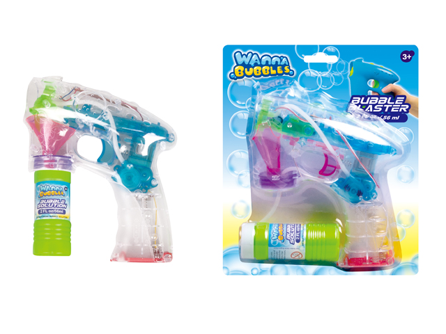 HIGH QUALITY B/O BUBBLE SHOOTER W/LIGHT