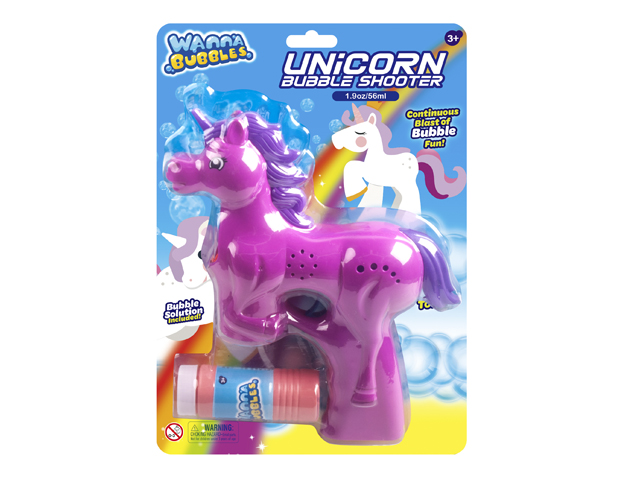 B/O UNICORN BUBBLE SHOOTER  - BB322