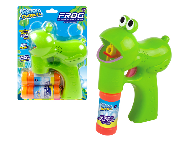 LIGHT UP BUBBLE FROG - BB507