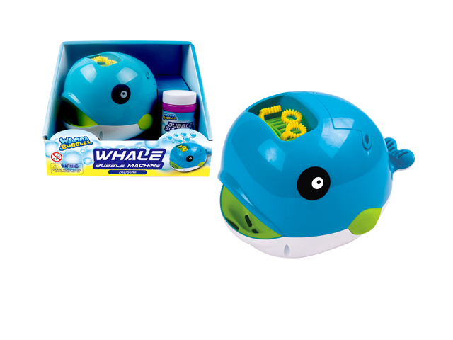 WHALE BUBBLE MACHINE - BB542