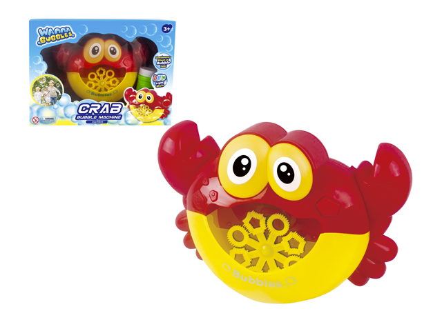 B/O CRAB BUBBLE MACHINE - BB554